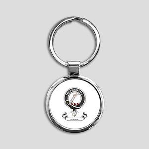 Badge-Wallace [Renfrew] Round Keychain
